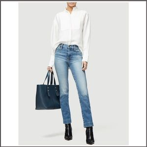 NWT Frame Le High Straight Blind Stitch Jean